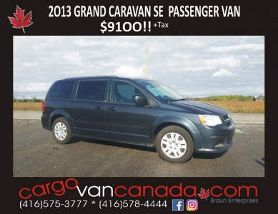 2013 GRAND CARAVAN SE  **OFF LEASE CLEAN** $9100!!
