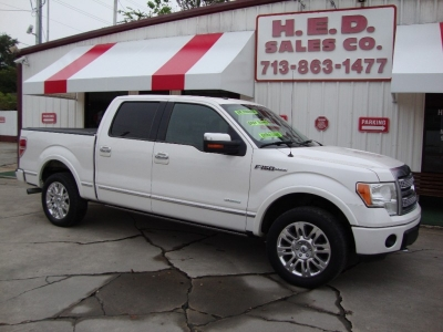 2011 Ford F-150 4WD SuperCrew  Platinum