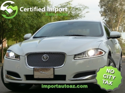 2013 Jaguar XF  V6 AWD  Supercharged