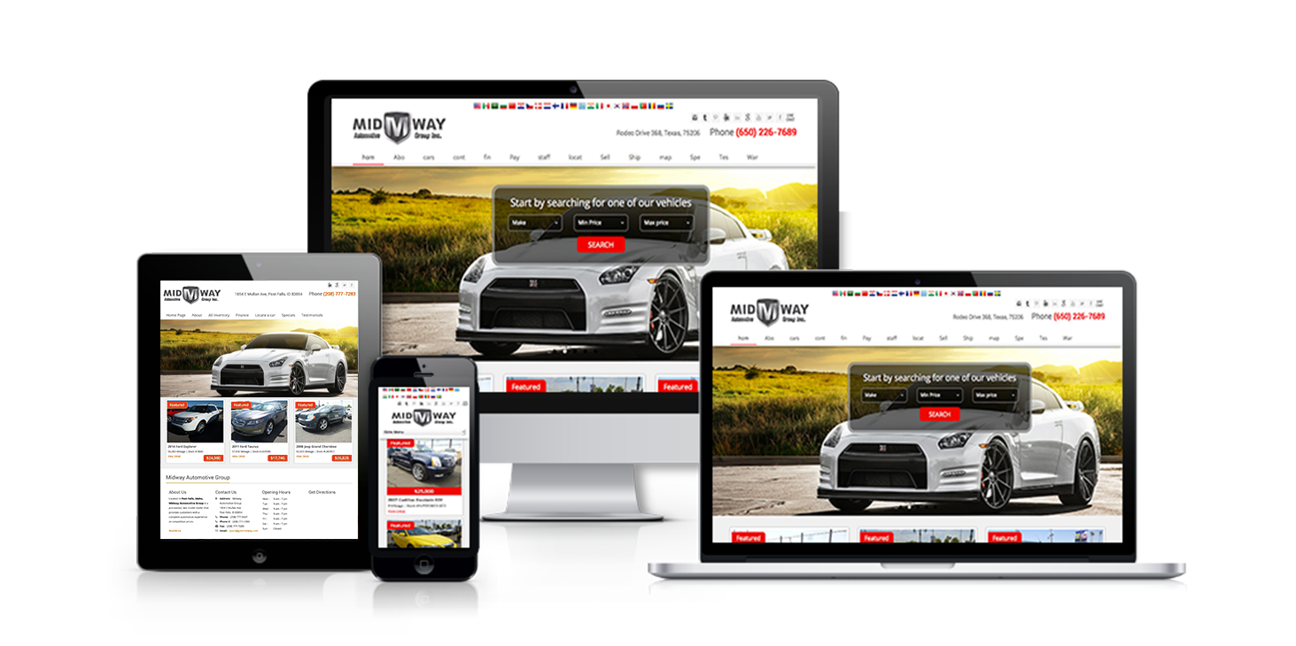 Car dealers, dealers: a selection of sites