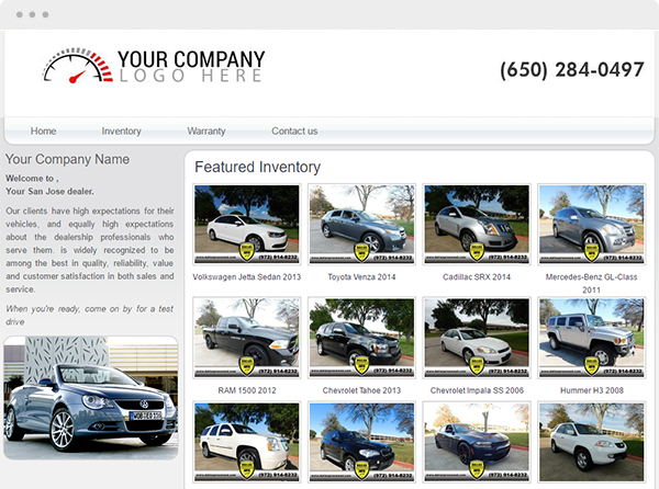 Car Dealer Websites And Auto Dealer Websites By V12 Software